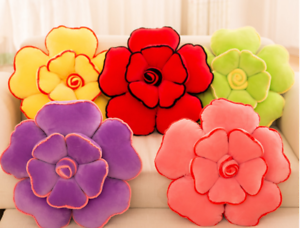 Coussins Fleur Forme Rose Coussin amant canapé maison lit chaise Soft meilleur cadeau