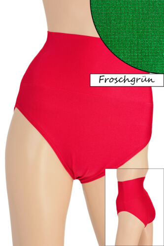 Femmes High-waist Slip Moulante Élastique Stretch Shiny Beaucoup De Couleurs S à XXL