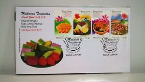 MALAYSIA-Local-Food-Joint-Issue-2014-Stamp-FDC