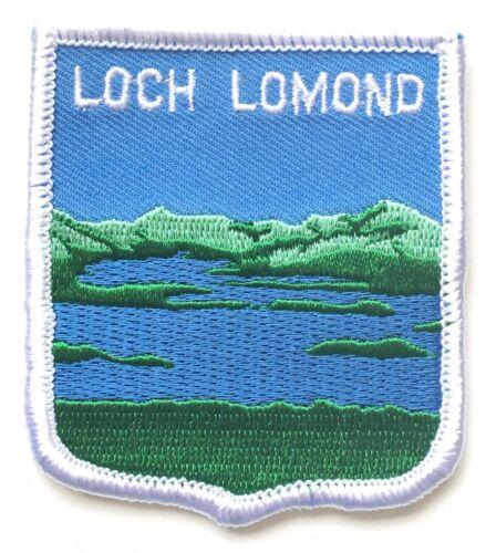 Loch Lomond Scotland Embroidered Patch AO63