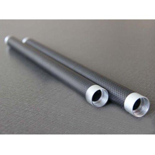 2pcs Carbon Fiber Extension Bar Tube 37cm for Feiyu Ultra G4 Handheld Gimbal