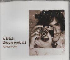 JACK SAVORETTI Dreamers 2 TRACK CD     NEW - NOT SEALED
