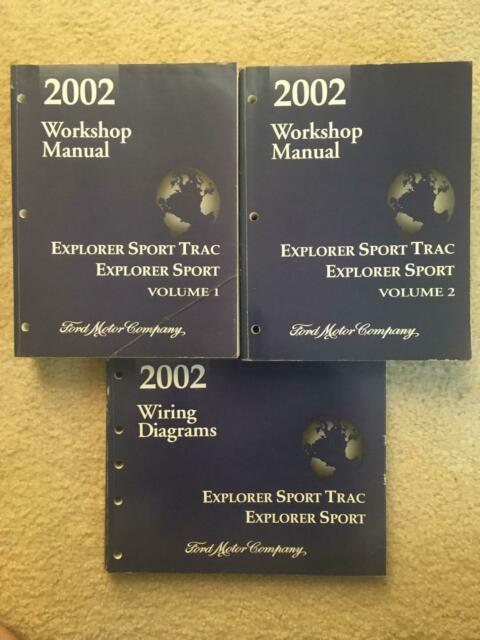 2002 Ford Explorer Sport Trac Workshop Manual  U0026 Wiring