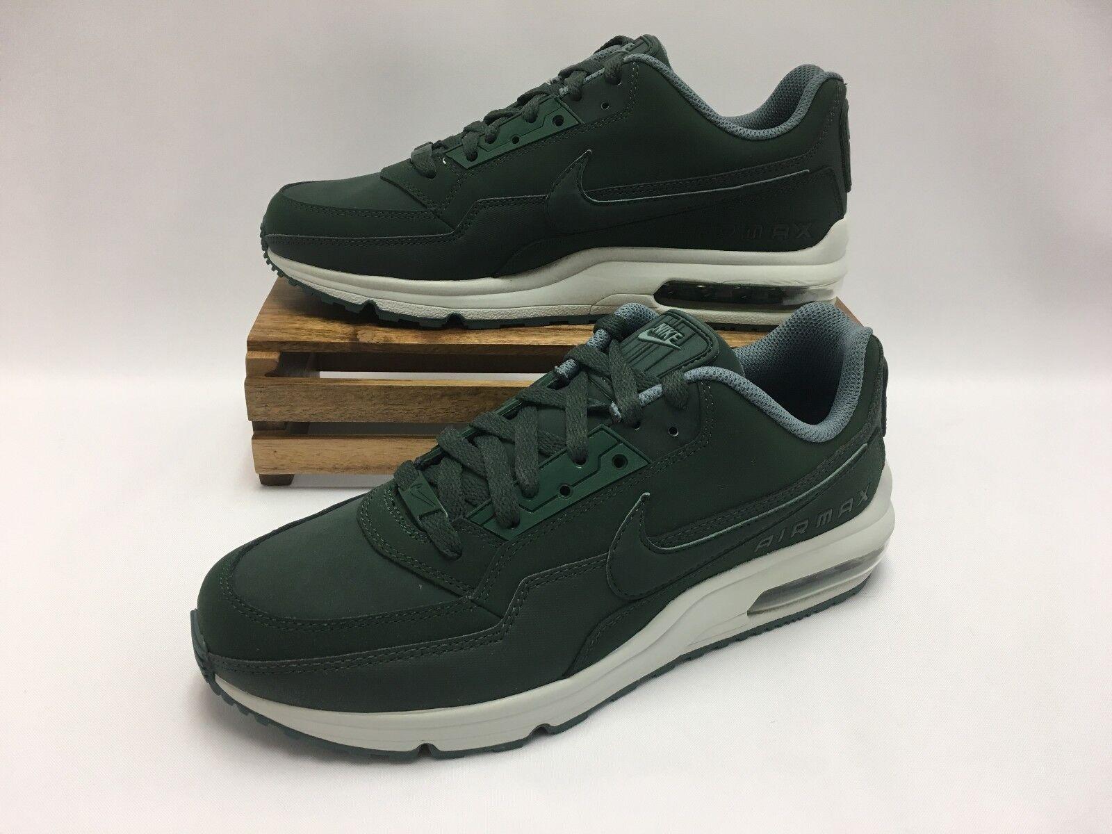 Nike Air Max LTD 3 Running Shoes Grove Green White 687977-303 Men's Size 10 NWOB