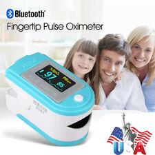 Bluetooth Fingertip Pulse Oximeter Spo2 Blood Oxygen Pr Monitorappsoftbagfda