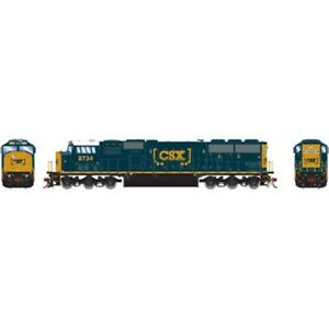 Athearn-ATHG67329-HO-Scale-SD60I-CSX-8734-DCC-Ready-Locomotive