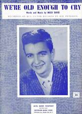50/'s TEEN Pop FRANKIE AVALON Sheet Music BOBBY SOX TO STOCKINGS Criterion Publ