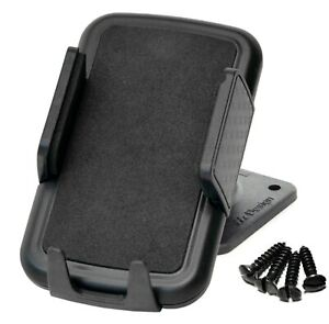Universal-Smartphone-Handy-Auto-Sockelhalter-Halterung-zum-schrauben-anschrauben