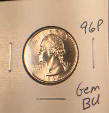 1996-P 25C Washington Quarter