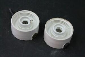 Old-Big-M-Socket-For-Lamp-Glaskolbenlampe-Wall-Lamp-E27-Porcelain-Vintage-Old