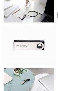 Ledger Nano S Cryptocurrency Hardware Wallet v1.3 New!!!! 100% Genius
