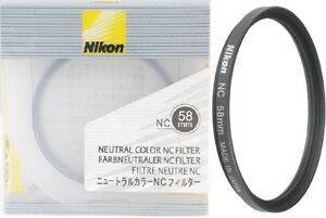 Nikon 58mm Neutral Clear Filter 2483, London