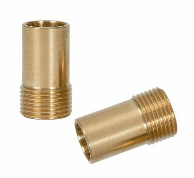"""European Foreign Pair 3//8/"""" Inch Flexi Tail Pipe Adapter Fitting Compression Tap"""