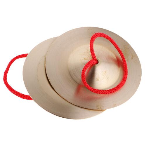 Kupfer Zimbeln Handbecken Baby Rhythmus Percussion Spielzeug