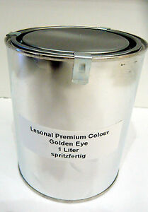 1 Liter Lesonal Premium Colours Golden Eye Effektlack