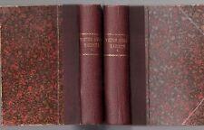 VICTOR HUGO RACONTE PAR UN TEMOIN DE SA VIE AVEC OEUVRES INEDITES 2 VOL. 1867