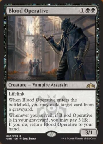 Rare Mint Blood Operative Guilds of Ravnica