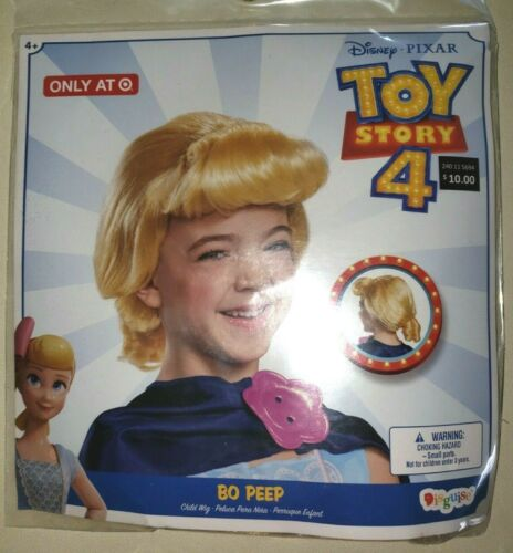 Details about  /girls TOY STORY 4 HALLOWEEN WIG BO PEEP one size fits most NEW NIP PRETEND PLAY