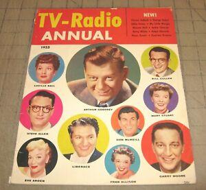 TV-RADIO ANNUAL (1955) Good- Condition Magazine - TV Radio Stars - Liberace++