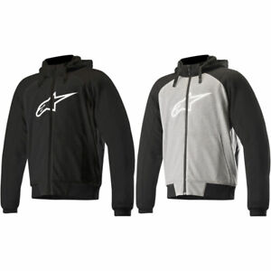 NEW-Alpinestars-Mens-Chrome-Sport-Motorcycle-Hoodie-Jacket-Pick-Size-Color