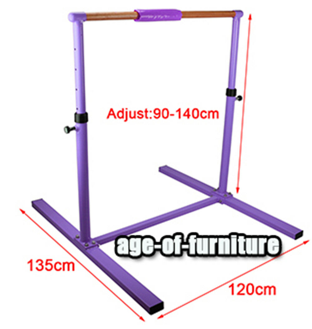 Gymnastics High Bar Training Equipment Home Gym Height Adjustable Christmas Gift
