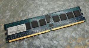 1GB Nanya NT1GT72U4PA0BV-5A PC2-3200R 400MHz 1Rx4 Reg DDR2 ECC Server Memory RAM