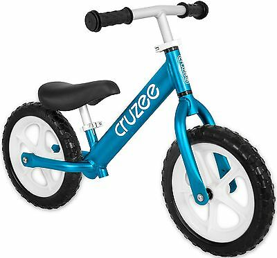 Cruzee UltraLite Balance Bike (4.4 lbs) for Ages 1.5 to 5 Years - Blue