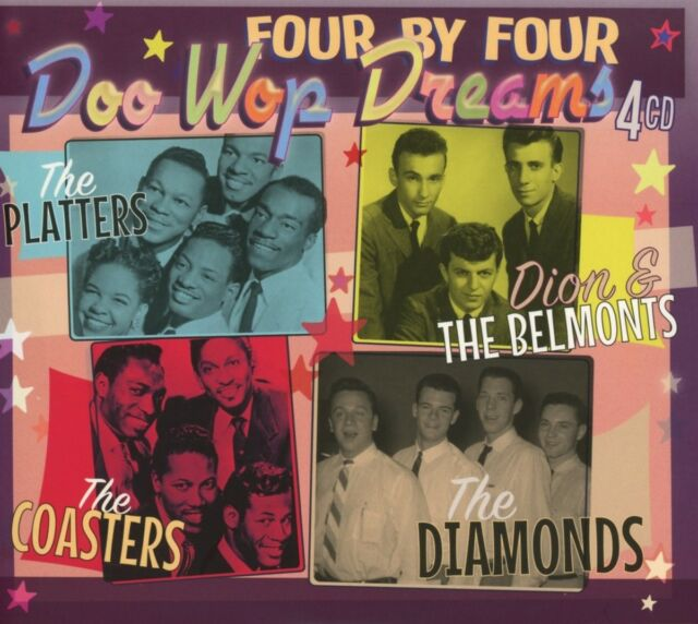 Platters/Dion & Belmonts/Coasters/Diamonds - Doo Wop Dreams