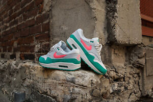 pretty nice bbce2 69bbe Image is loading NIKE-AIR-MAX-1-WATERMELON-SUMMIT-WHITE-SUNSET-