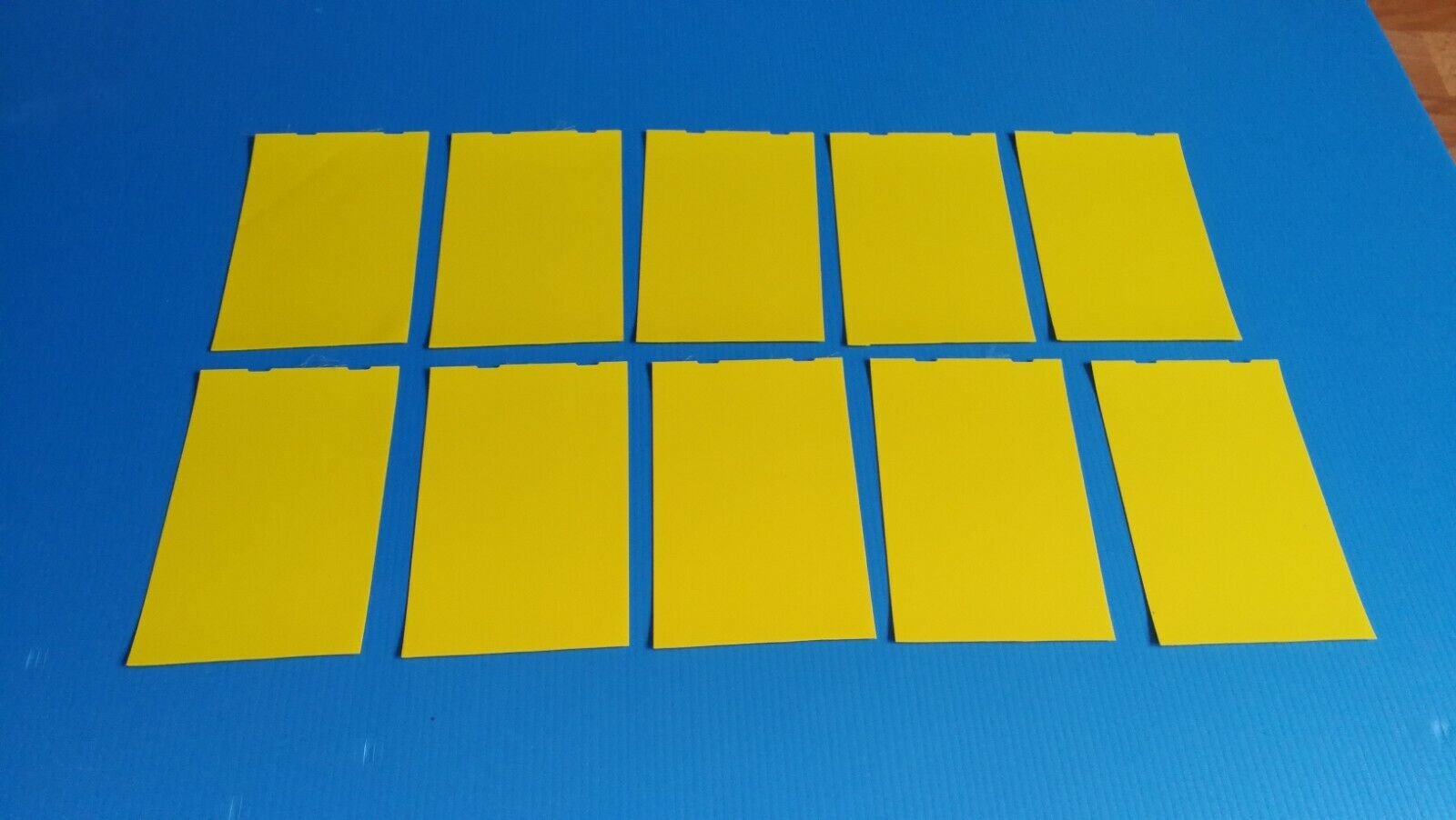 Paddle board SWIMMING POOL BOAT HOT TUB.Patch material X 10 yellow