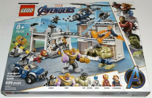 LEGO 76131 Avengers Compound Battle Endgame Iron Man Thanos Captain Marvel