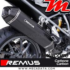 Silencieux Pot échappement Remus Hexacone carbone BMW R 1200 GS Adventure 2016