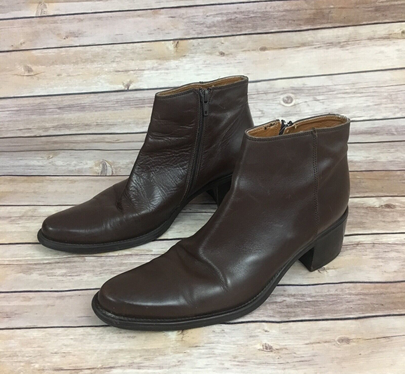 Atelier Brown Bootie (Size  9)