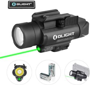 OLIGHT Baldr Pro BLACK 1350 Lumens Tactical light Green Laser & White LED