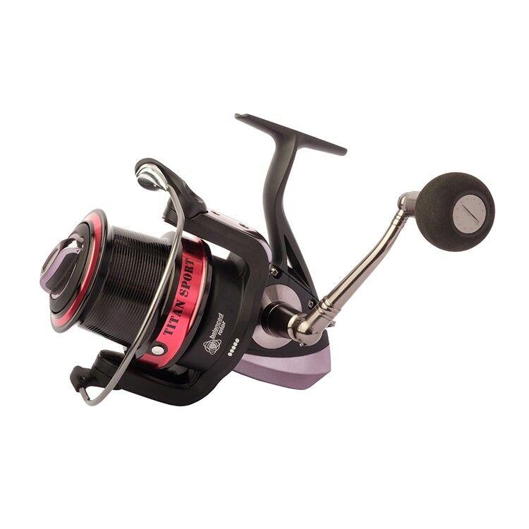 grisvell Fixed Spool Mer fishing reel Titan Sport fussion 5000