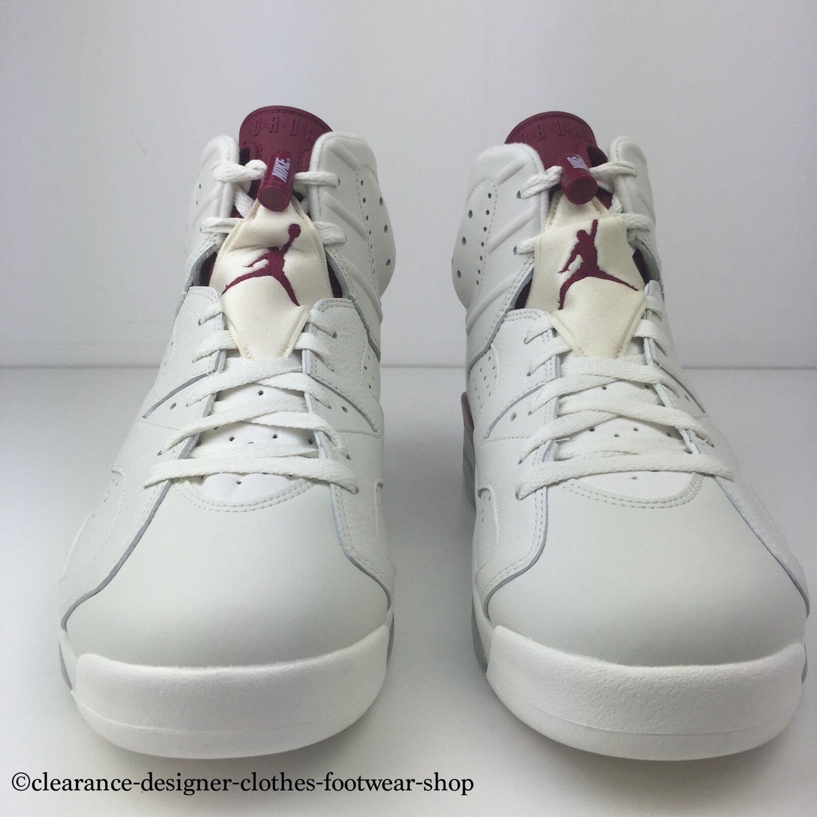 NIKE AIR JORDAN 6 RETRO RETRO RETRO MAROON TRAINERS Hommes NEW Chaussures 10 6e189b