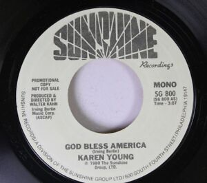 Rock Nm! 45 Karen Young - God Bless America / On Sunshine