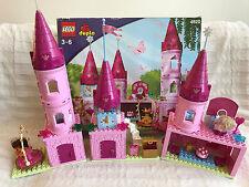 Lego Duplo 4820 Princess Castle Near Complete with Box & Minifigs