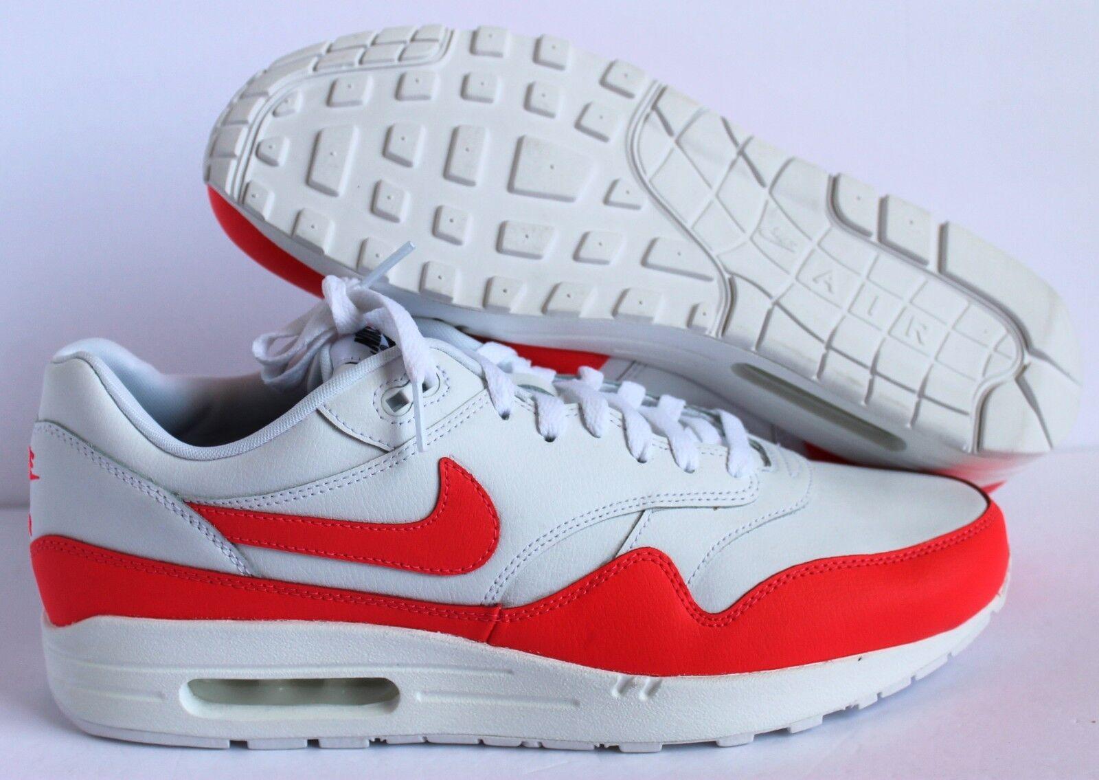 Nike id air max 1 id Nike Weiß-pink sz 12 [943756-991] 783c06