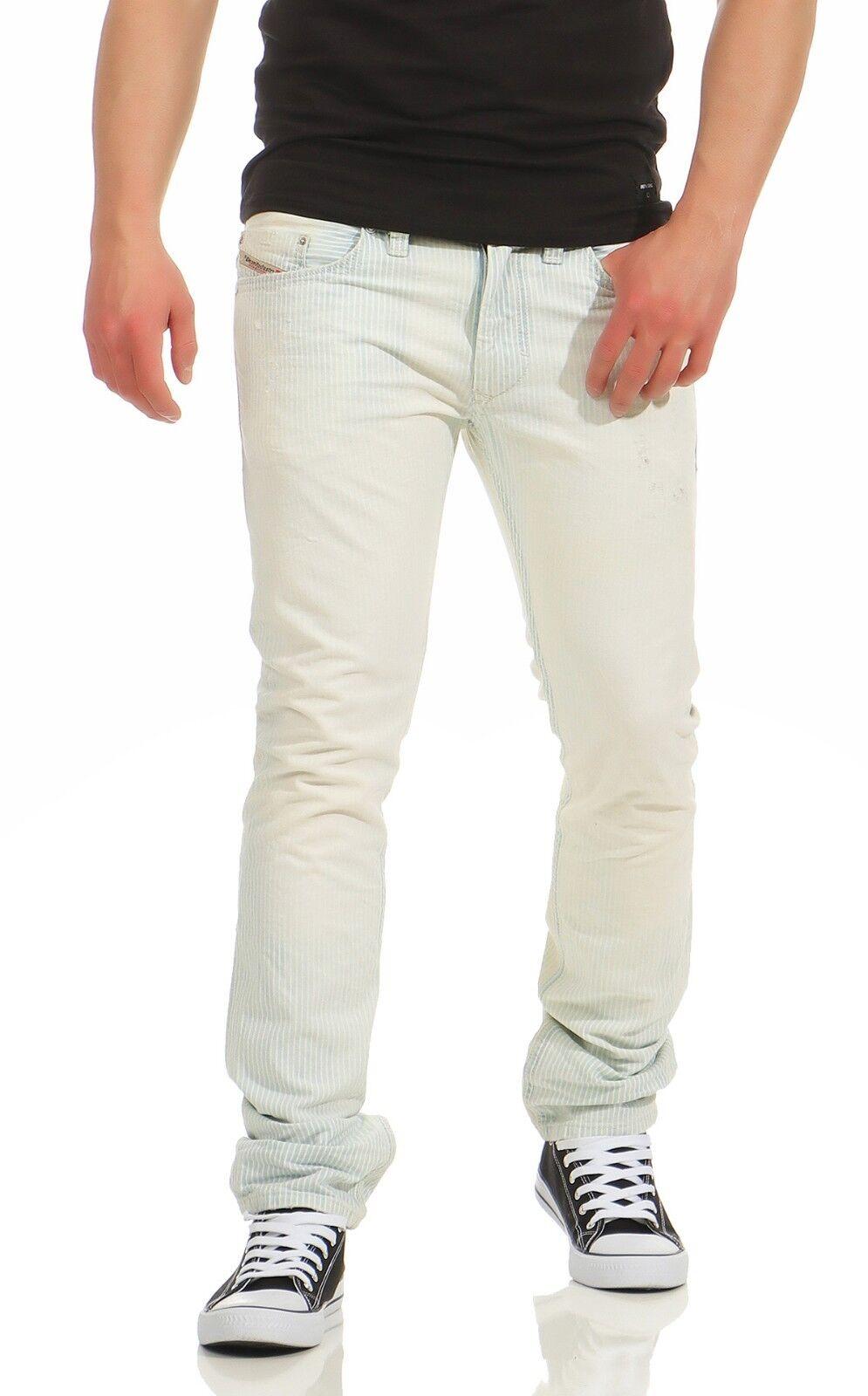 DIESEL Thanaz Wash 0812X Röhrenjeans Slim Skinny D.N.A Kollektion W32 L32