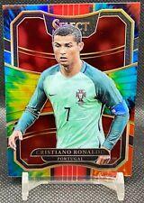 Cristiano Ronaldo 2017-18 Panini Select футбол галстук Dye Prizm 1/30 впервые сделаны 1/1