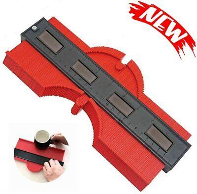 10 inch Contour Gauge Saker Duplicator Profile Copy Tool Shape Measuring Red US