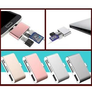 4in1-Type-C-to-Micro-USB-OTG-TF-SD-Card-Reader-Adapter-For-Huawei-Macbook-Letv