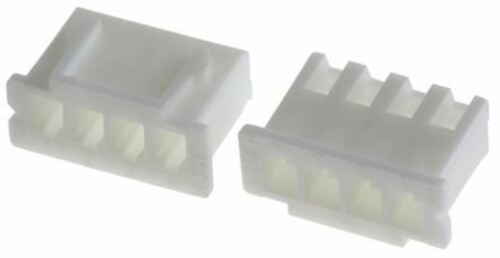 1 Row Female Connector Housing Pack 5 JST XHP 4 Way 2.5mm Pitch