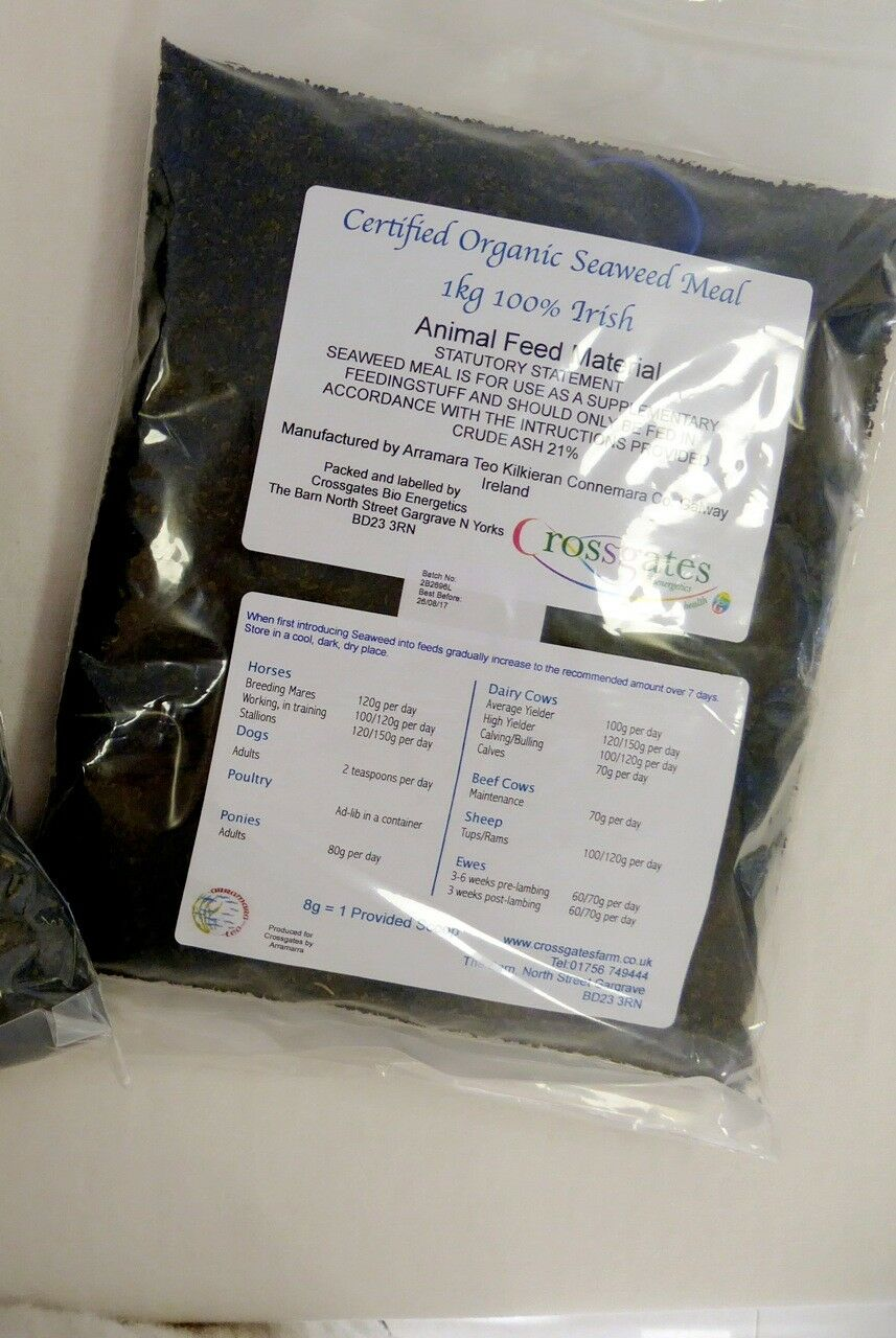 Seaweed (organic approved) 1.5kg pet/bird/poultry/horse/livestock