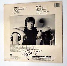 John Paul Jones hand SIGNED Scream For Help Soundtrack LP JSA COA Led Zeppelin