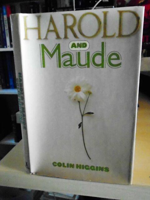 Colin Higgins: Harold & Maude 1971 Romantic Black Comedy Drama Film 1st Ed. HB