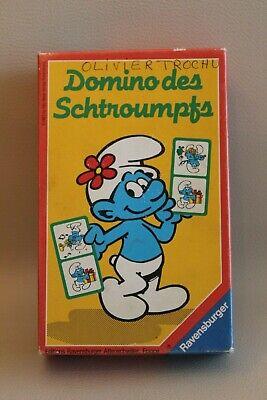 Acquista A Buon Mercato Domino Des Schtroumpfs - Jeu Ancien Vintage Ravensburger Vendite Di Garanzia Della Qualità