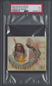 1888-N36-Allen-amp-Ginter-American-Indian-King-of-the-Crows-Graded-PSA-3