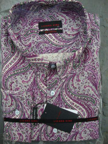 shirt Manica Lizard Cachemire 3xl 6xl T Mod 5xl 7xl King Motivo 4xl Lunga 2xl wZBBxYXqr